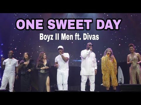 ONE SWEET DAY- (BOYZ II MEN WITH DIVAS CONCERT)