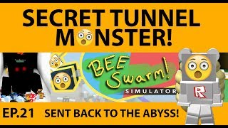 Bee Swarm Simulator - Secret Tunnel Bear - SDMittens