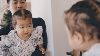 👶🏽 BABY REACTS TO HER NEW HAIRSTYLE!! MAZELEE VLOGMAS DAY 15