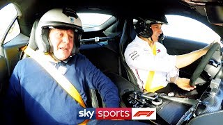 SUBSCRIBE ▻ http://bit.ly/SubscribeSkyF1 Mercedes boss Toto Wolff challenges Martin Brundle to a One Lap Challenge at the Circuit of the Americas in Texas.