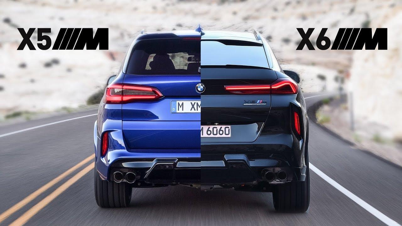 نظرة سريعة على بي ام دبليو X5M و X6M Competition