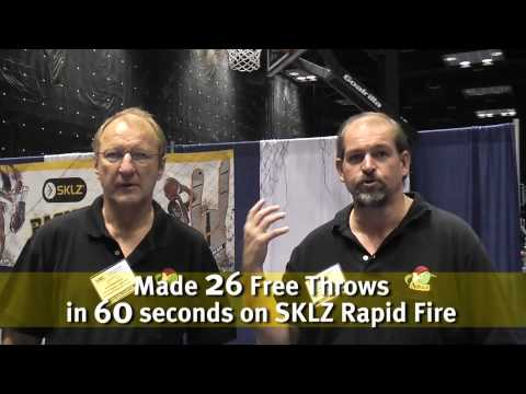 Rapid Fire & D-Man Basketball Trainers at the NABC