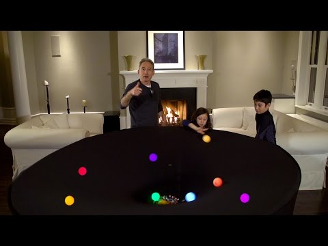 Brian Greene Explores General Relativity in His Living Room