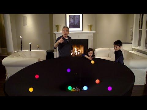 Brian Greene Explores General Relativity in His Living Room