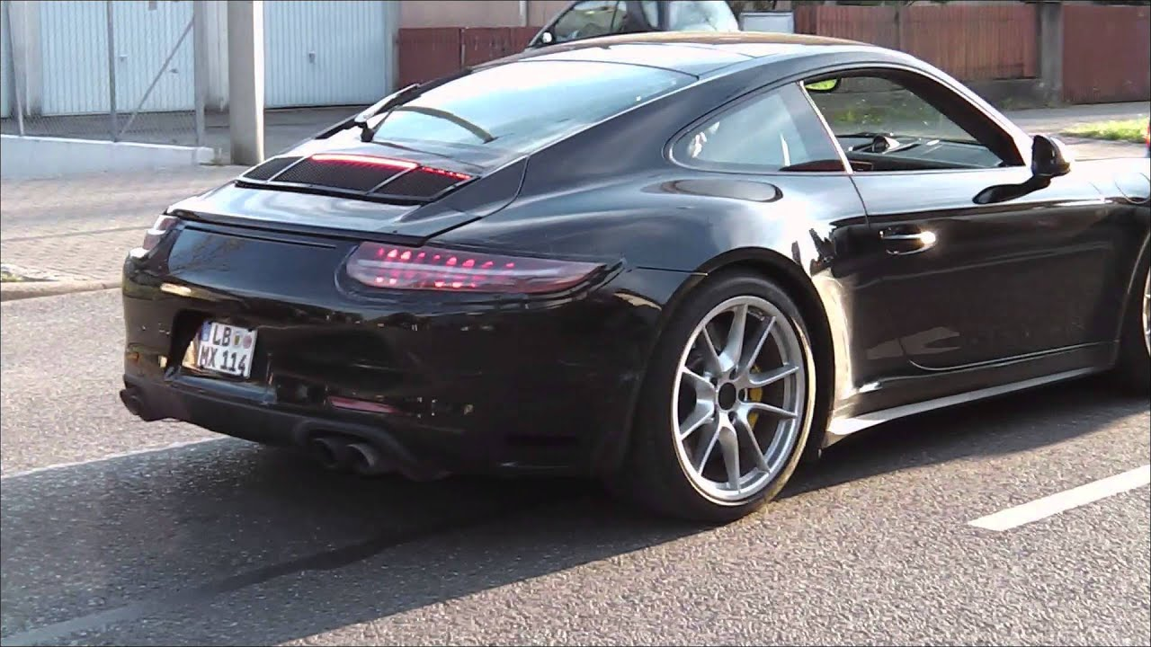 New Porsche 911 Carrera 2016 991 2 Series Barely