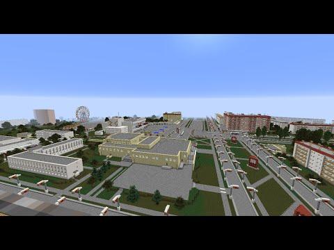 Pripyat before the Chernobyl Disaster V3.0 (Minecraft)
