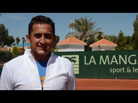 Nicolas Almagro - New Director Of Tennis Academy At La Manga Club