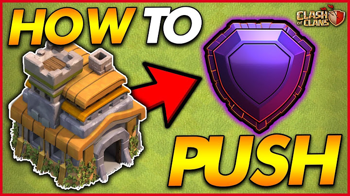 how to trophy push to legend league as a th7  clash of clans