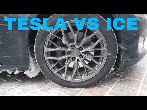 RWD Tesla Vs ICE- Nokian Tires
