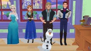 FROZEN ELSA FINGER FAMILY DANCE 3D Nursery Rhymes Cartoon for Children Family Song