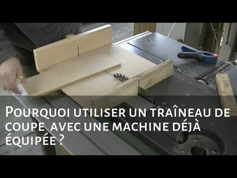 mini tra neau de coupe pour scie sur table youtube. Black Bedroom Furniture Sets. Home Design Ideas