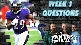 Fantasy Football 2016 - Getting Ready for Week 1, Breaking News - Ep. #257