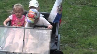видео Детский бензиновый SHERHAN JEEP 150cc