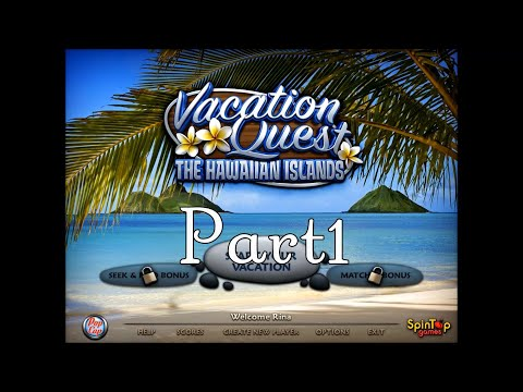Vacation Quest: The Hawaiian Islands プレイ動画 Part1