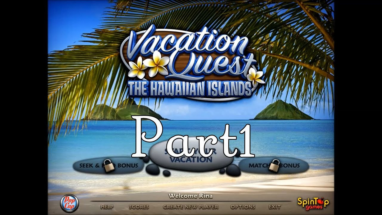 Vacation Quest: The Hawaiian Islands プレイ動画 Part1 - YouTube