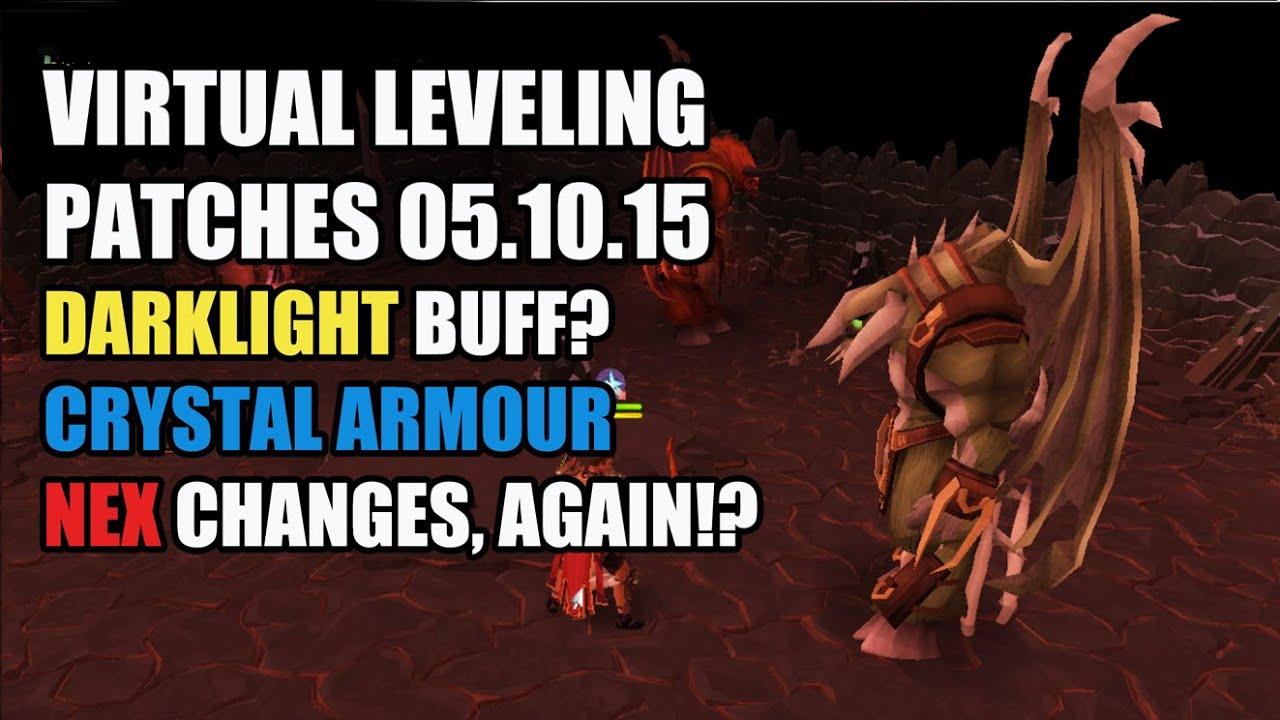 Runescape Darklight Buff Crystal Armour Set Effect Nex