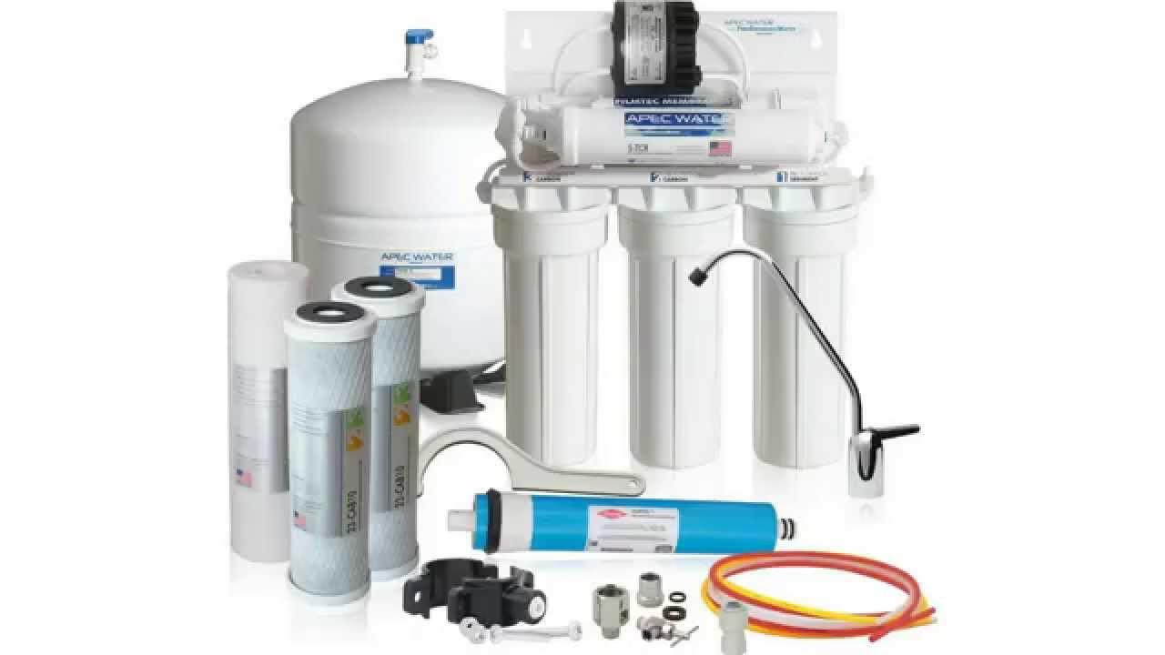 smart triple under sink water filter system under sink water