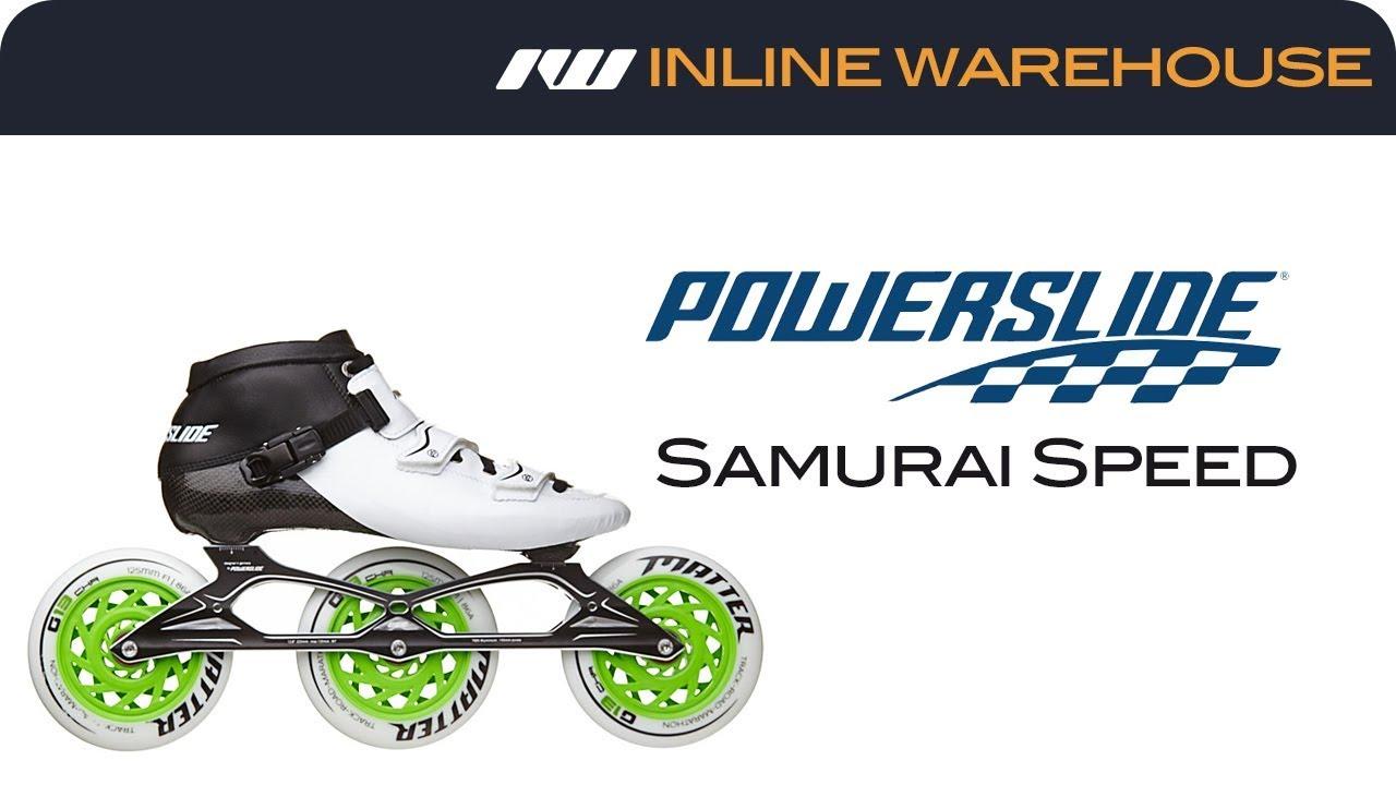 7f04e6b1844 2017 Powerslide Samurai Speed Skates - YouTube