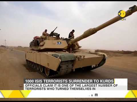 1000 ISIS terrorists surrender to security forces in Iraq's Hawija