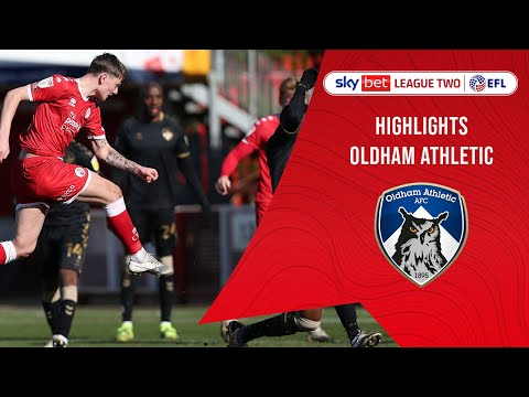 Crawley Town Oldham Goals And Highlights