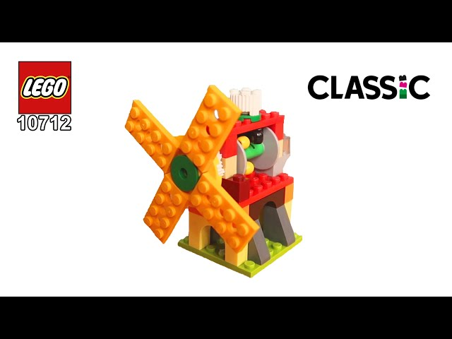 LEGO Classic 10712 Working Windmill Building Instructions