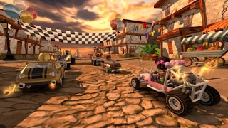 Mario Kart for Mobile? - Beach Buggy Racing Gameplay