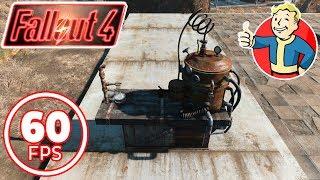 Fallout 4 (60 fps) на выживании. Делаем антибиотики в химлаборатории