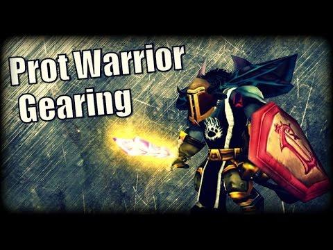 WoW Burning Crusade - Gearing Up Your Protection Warrior
