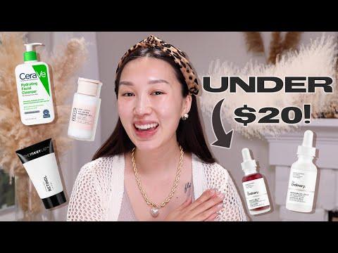 *Affordable* GLASS SKIN Skincare Under $20!