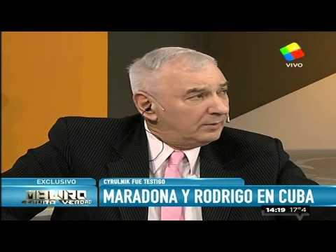 Jimena Cyrulnik y un emotivo recuerdo de Maradona y Rodrigo