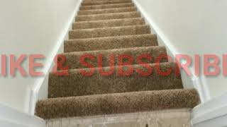 Carpet install in basement
