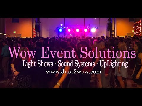 Large Event Sound and Lighting System
