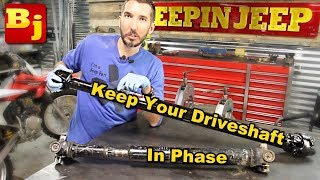 How To Phase a Driveshaft