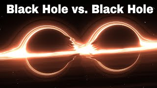 I Made Two Black Holes Collide and This Happened!