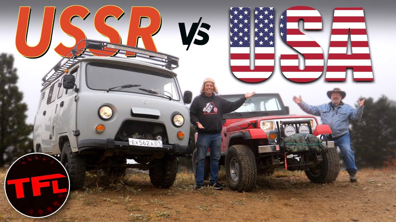 Download Buhanka vs Jeep: I Test American Ingenuity Versus Russian Dirty But Sturdy Off-Road Tech!