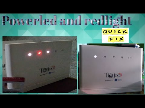 Power led and redlight modem 936 FIXED!!!
