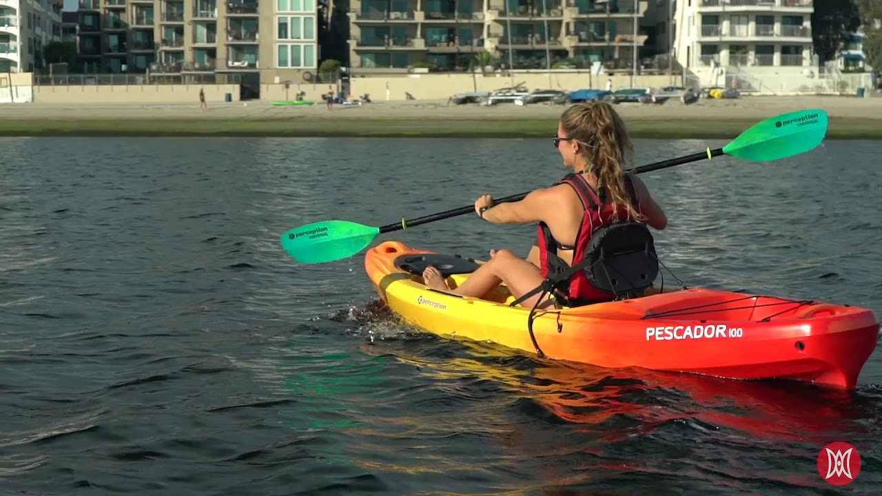 Perception Kayaks | Pescador Features Overview