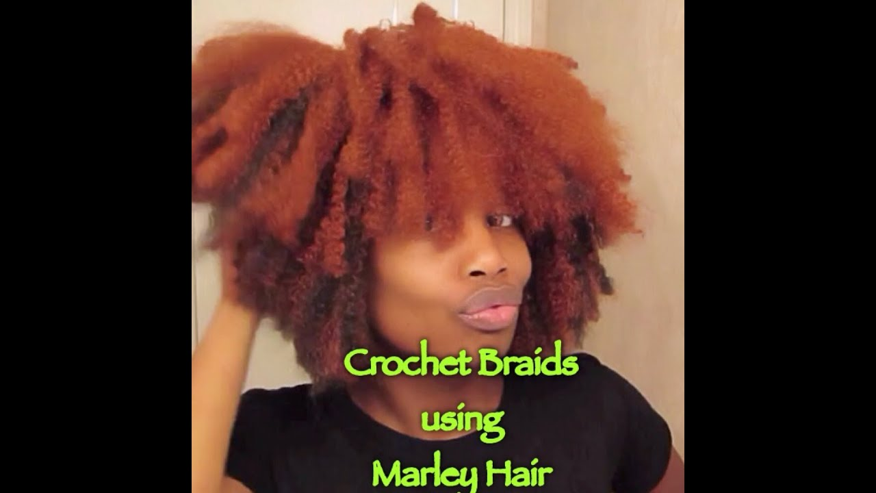 Crochet Braids with Marley Braid Hair - YouTube