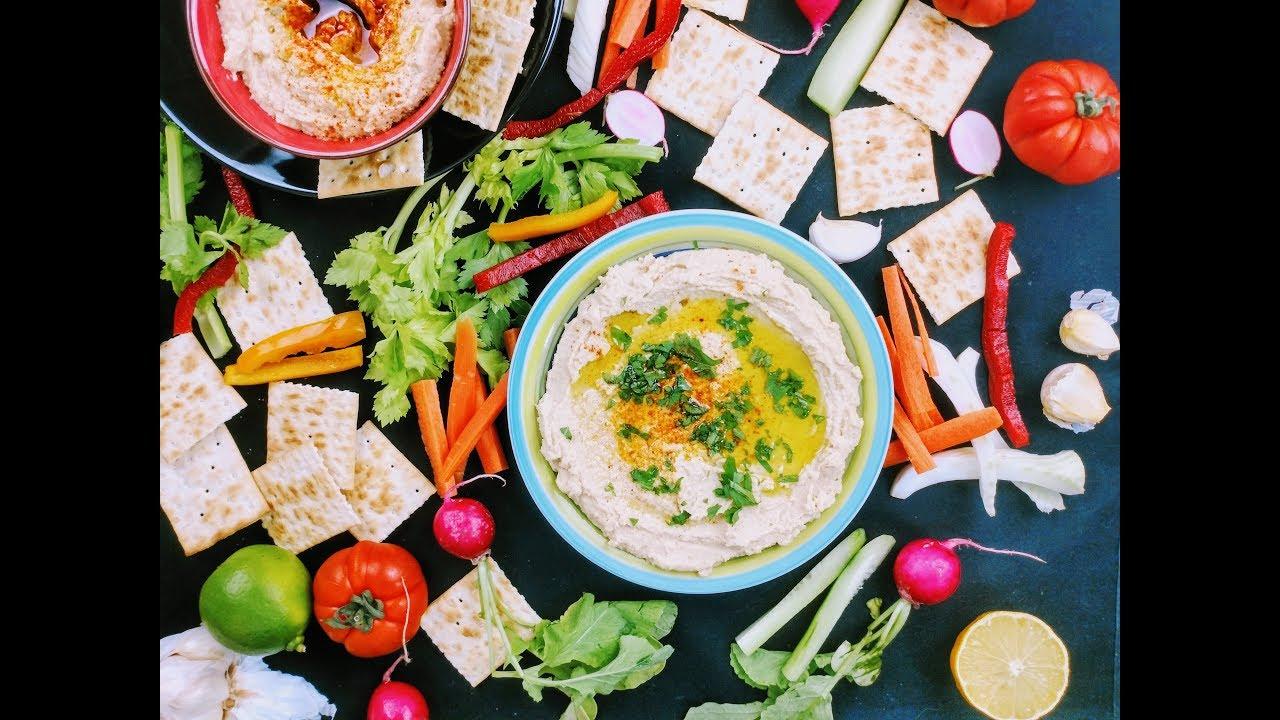 Ricetta Hummus Veloce.Hummus Di Ceci Healthy Hummus Recipe Ricetta Super Veloce E Sana Youtube