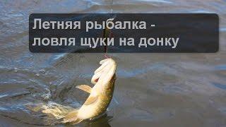 Летняя рыбалка - ловля щуки на донку(Рыбалка – это древнее и увлекательное занятие настоящих мужчин. Сколько существует видов рыбалки – зимняя..., 2016-03-07T21:08:43.000Z)