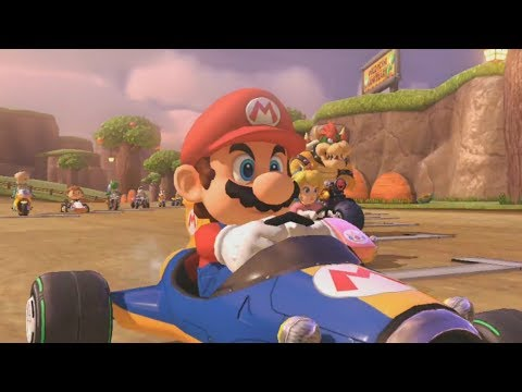 Mario Kart 8 Deluxe - 150cc Leaf Cup Grand Prix (Mario Gameplay)