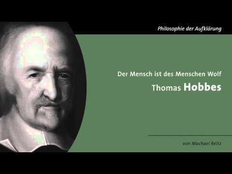 Thomas Hobbes - Homo homini lupus
