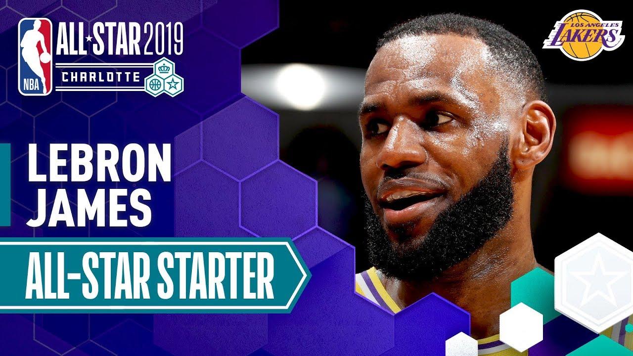 466c90565 LeBron James 2019 All-Star Captain | 2018-19 NBA Season - YouTube