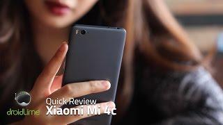 Xiaomi Mi 4c Quick Review