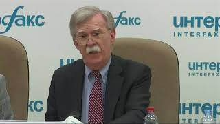 Bolton: Russia hurt itself meddling in US vote