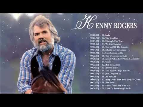 Medley Love Songs 80's 90's Playlist Kenny Rogers Best Songs || Kenny Rogers Playlist