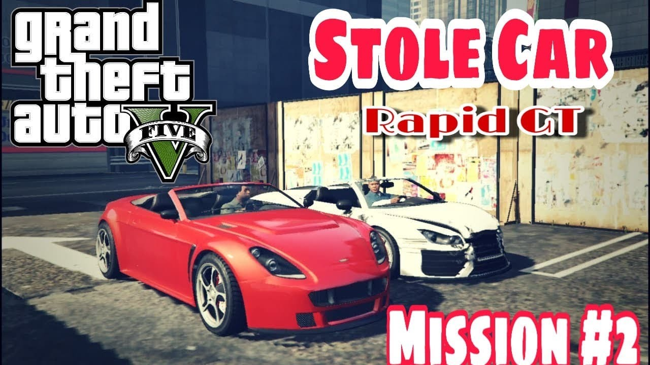 GTA V MISSION NO 2 | FRANKLIN AND LAMAR STOLE CARS |GTA 5 GAMEPLAY