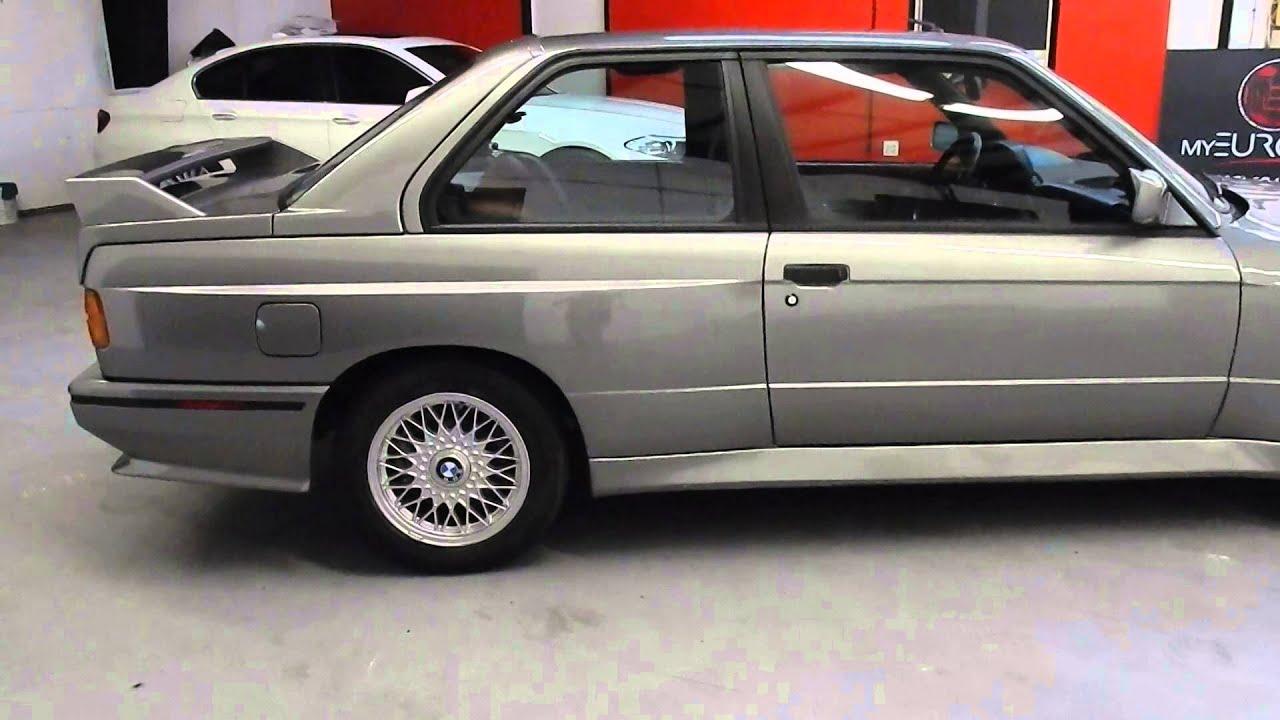 1988 BMW E30 M3 For Sale in Orlando Florida  Lachssilber