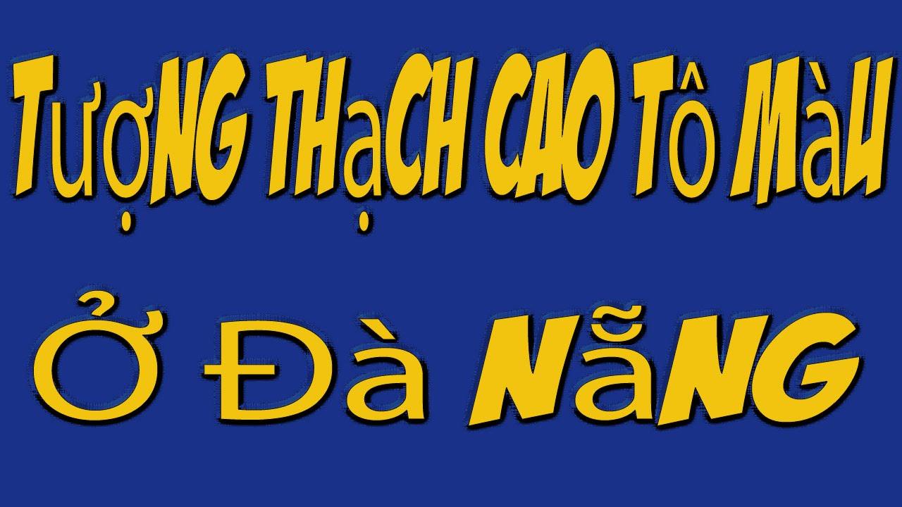 Tượng Thạch Cao Tô Màu Ở Đà Nẵng