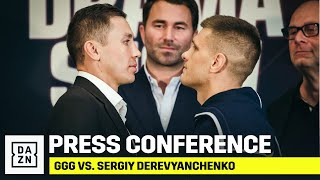 GGG vs. Derevyanchenko Final Press Conference